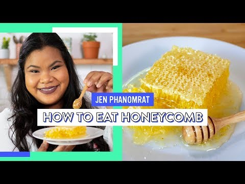 How To Eat Honeycomb   Good Times With Jen