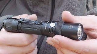 Фонарик Fenix FD30 с регулируемым лучом света. Обзор, тесты и мнение.
