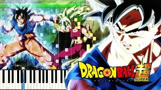 Dragon Ball Super Ost Ultimate Battle Piano Tutorial.mp3