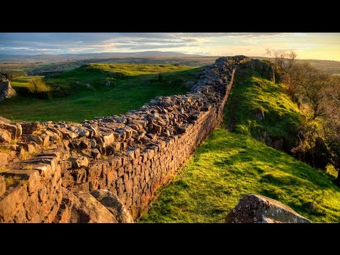 Admire the view from Hadrian's Wall in 360