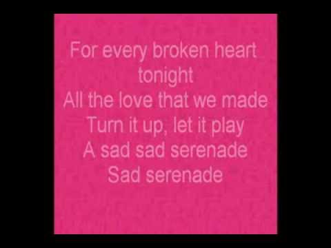 Selena Gomez Lyrics SAD SERENADE)