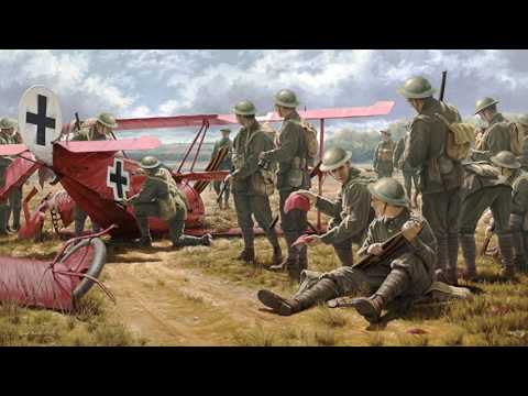 Artist Russell Smith at the WWI Dawn Patrol Rendezvous 2016 - YouTube