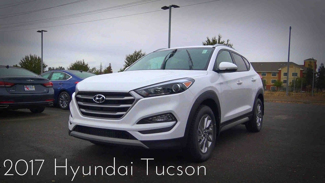 2017 Hyundai Tucson Eco 1 6 L Turbo 4 Cylinder Review Youtube