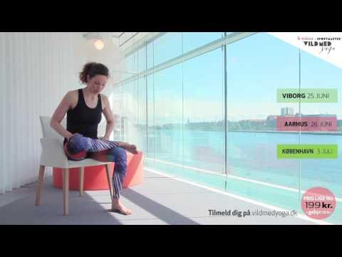 Femina & Sportmaster Vild med yoga i Viborg, Århus og KBH 2016