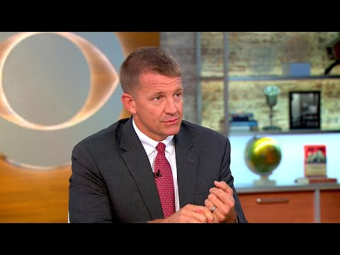 Blackwater founder says contractors in Afghanistan wouldn't be mercenaries