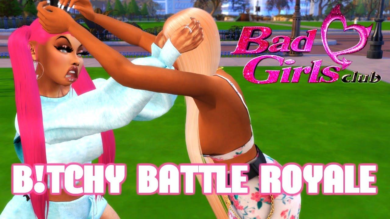 BAD GIRLS CLUB: A B!TC#Y BATTLE ROYALE | THE SIMS 4