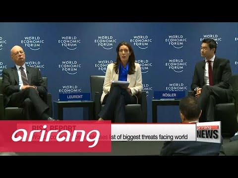 World Economic Forum releases list of biggest threats facing world