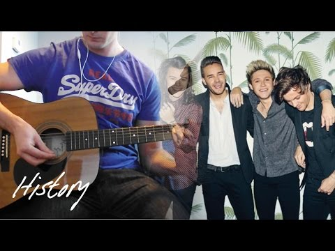 History - One Direction | Acoustic karaoke / backing track cover ...
