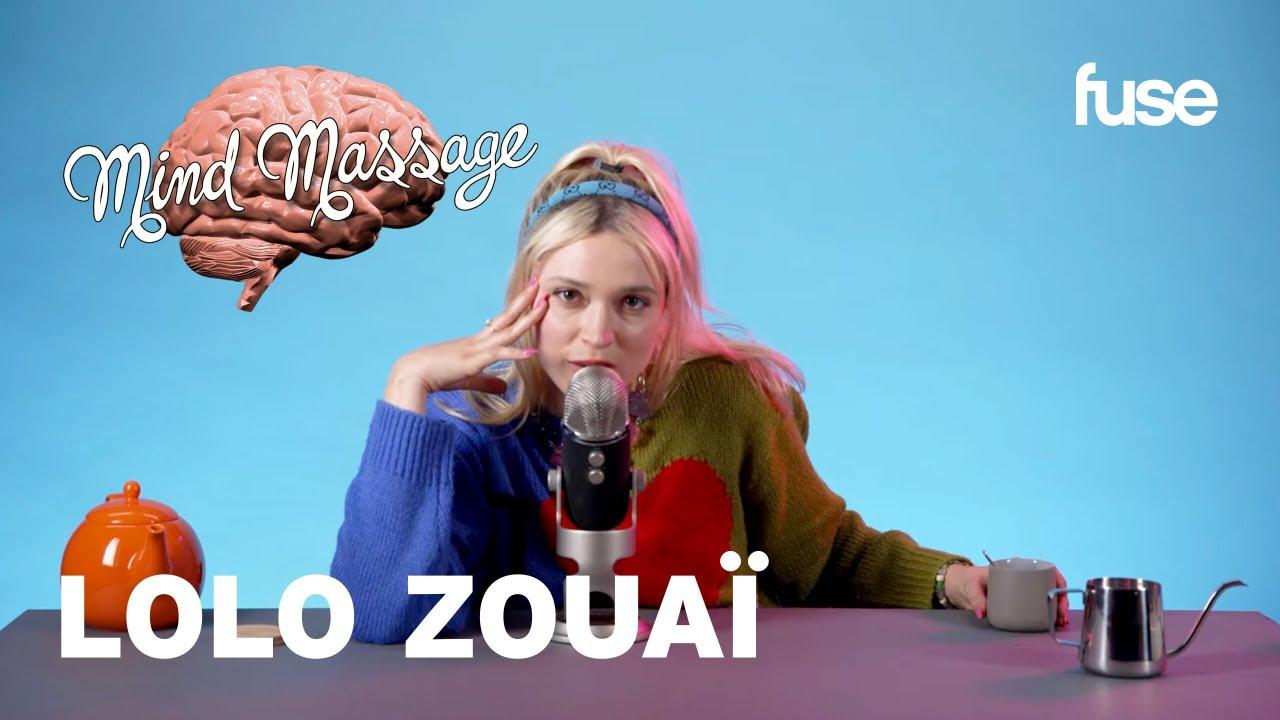 Lolo Zouaï Does ASMR with Foam Beads, Speaks French & Talks
