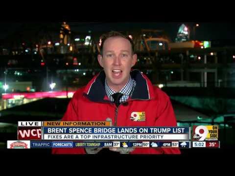 Brent Spence Bridge lands on Trump list