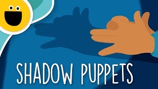 How to Make Shadow Puppets (Sesame Studios)
