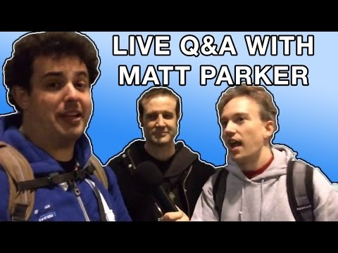 Q&A with Matt Parker, Stand-Up Mathematician: LIVE