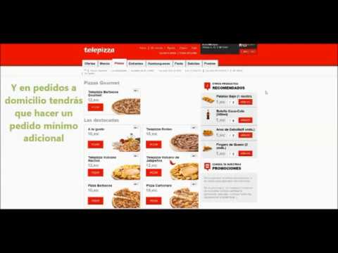 Cómo canjear tu cupón de Telepizza en Groupon