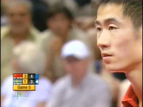 2004 Olympics (3rd place) WANG Liqin - WALDNER Jan Ove [only sets: 4th(half) & 5th]