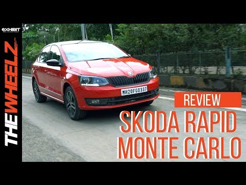Skoda Rapid Monte Carlo | Road Test Review | The Wheelz