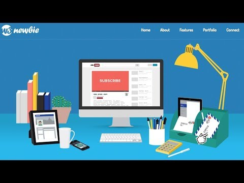 Responsive Bootstrap Website From Scratch - HTML5/CSS3 Tutorial