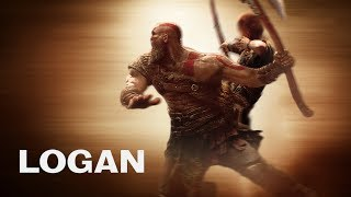 "GOD OF WAR | LOGAN style Trailer ""Way Down We Go"""