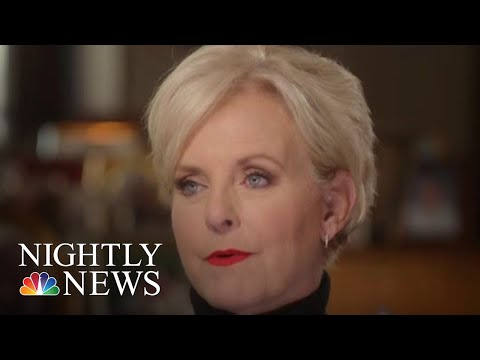 Cindy McCain On Husband John McCains Legacy One Year After His Death  NBC Nightly News