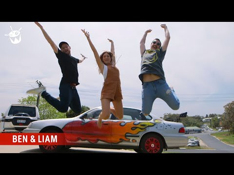 Ben and Liam pimp an old car for a triple j listener Mp3
