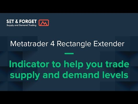 Rectangle Extender Metatrader Indicator for Supply and Demand Forex Trading
