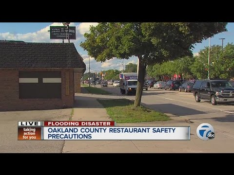Oakland County restaurant safety precautions