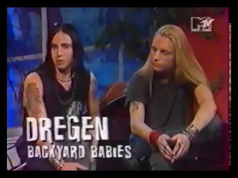Backyard Babies - Interview 1994 with Joey DeMaio (TV)