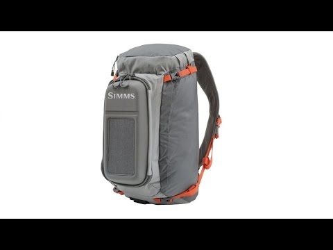 3e5f2a3ecd87 A review of the new 2016 Simms Waypoints Sling Pack - YouTube