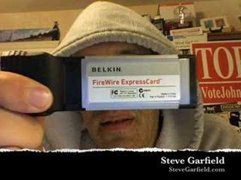 BELKIN FIREWIRE EXPRESSCARD DRIVERS FOR WINDOWS MAC