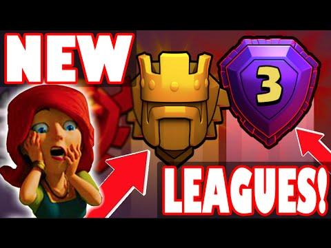 "Clash of Clans - FINALLY! ""NEW LEAGUES UPDATE!"" Titans + Legends League! WE CALLED IT!"