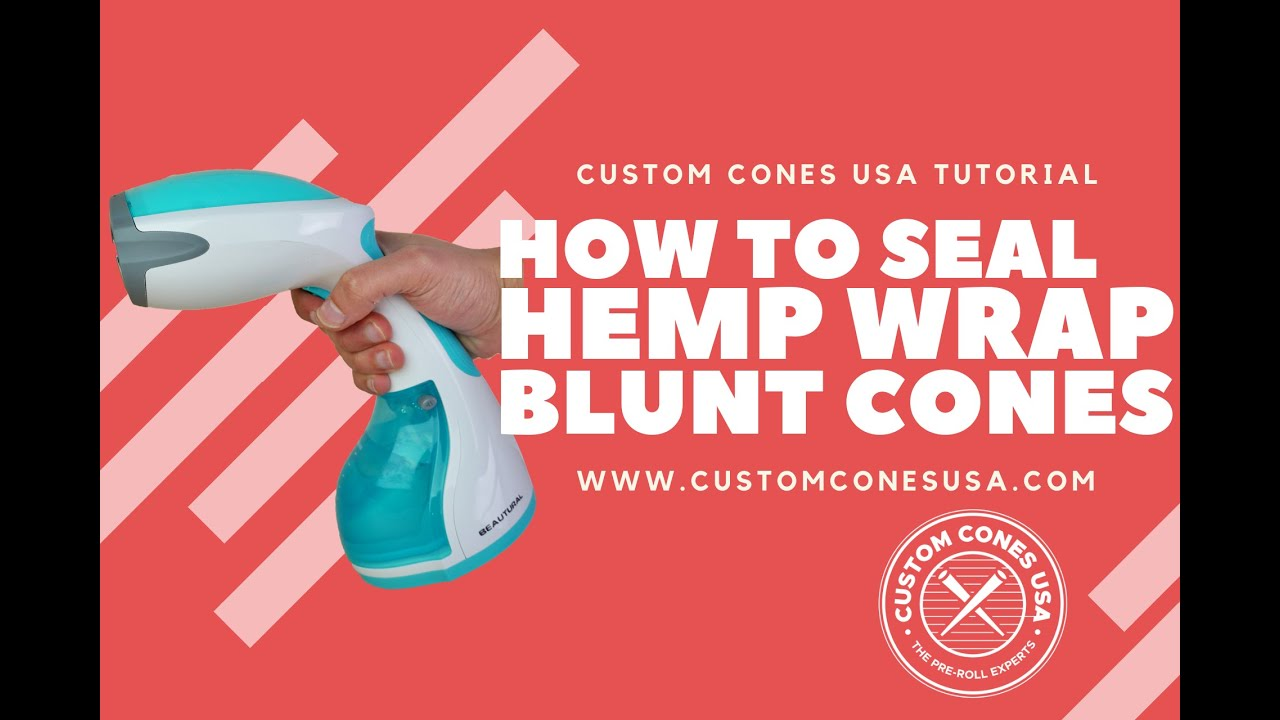 How to Seal Our Hemp Wrap Blunt Cone | Custom Cones USA