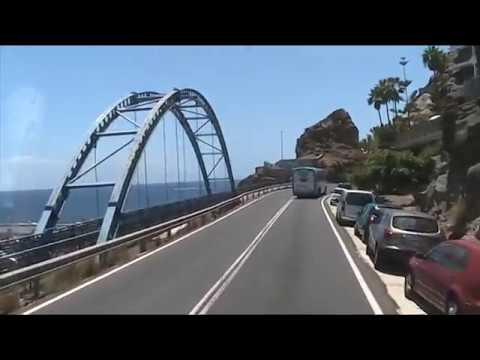 Bus trip from harbor Arguineguín to Mogan Princess Beach Club in Taurito Gran Canaria