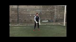 Marko Jankovic - junior goalkeeper training at Viborg Koceic academy. (11 years old)