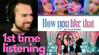 1st time listening to blackpink. omg! 'how you like that' m/v - as reviewed by a vocal coach/musician!- want me review video/audio of singing and g...