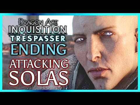 Dragon Age Inquisition ► TRESPASSER ENDING – Attack Solas and Keep the Inquisition Intact