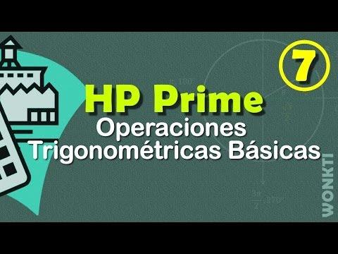 HP Prime: 07 - Operaciones Trigonométricas Básicas