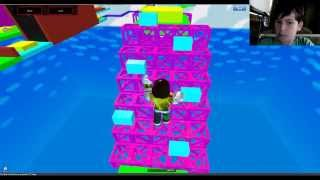 Roblox Parkour Fun With Live Webcam And Skype Part 2 Super Noob Obby