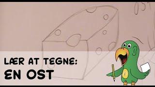 Lær at tegne EN OST | HVORDANTEGNERJEG.DK