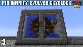 ftb infinity evolved skyblock 03 thủy điện trn trời