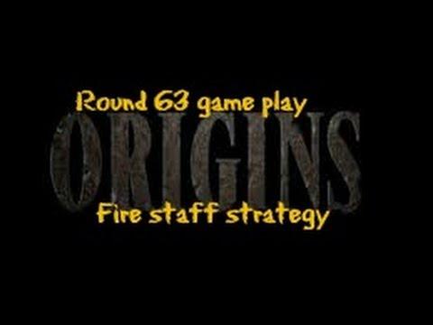 how to make fire staff origins