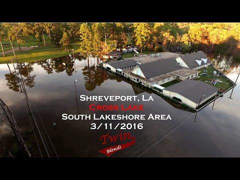 Cross Lake area Flooding 2016 Shreveport, La