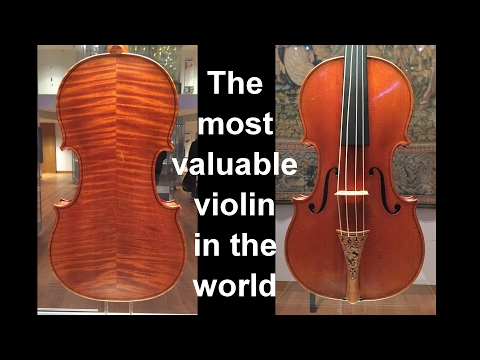 The world's most valuable violin? The Messiah Stradivarius