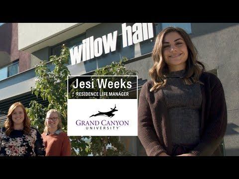 Working at GCU with Jesi Weeks