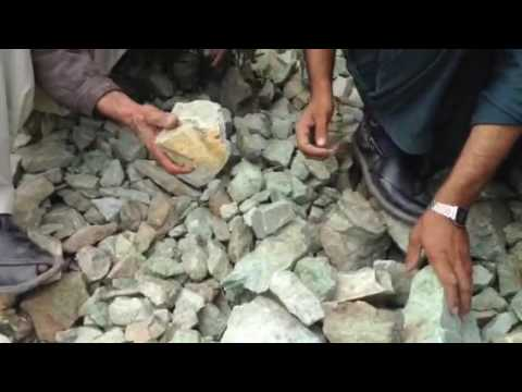 Green jade mine in Mohmand agency by shah room khan00923345836515