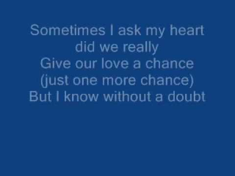 The long Goodbye Brooks and dunn lyrics