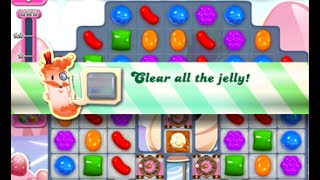 Candy Crush Saga Level 1493 walkthrough (no boosters)