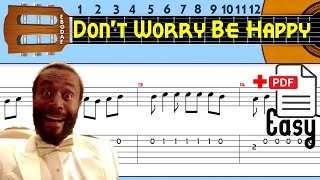 Bobby McFerrin - Don't Worry Be Happy Guitar Tab