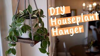 DIY Houseplant Hanger! 🌿// Garden Answer