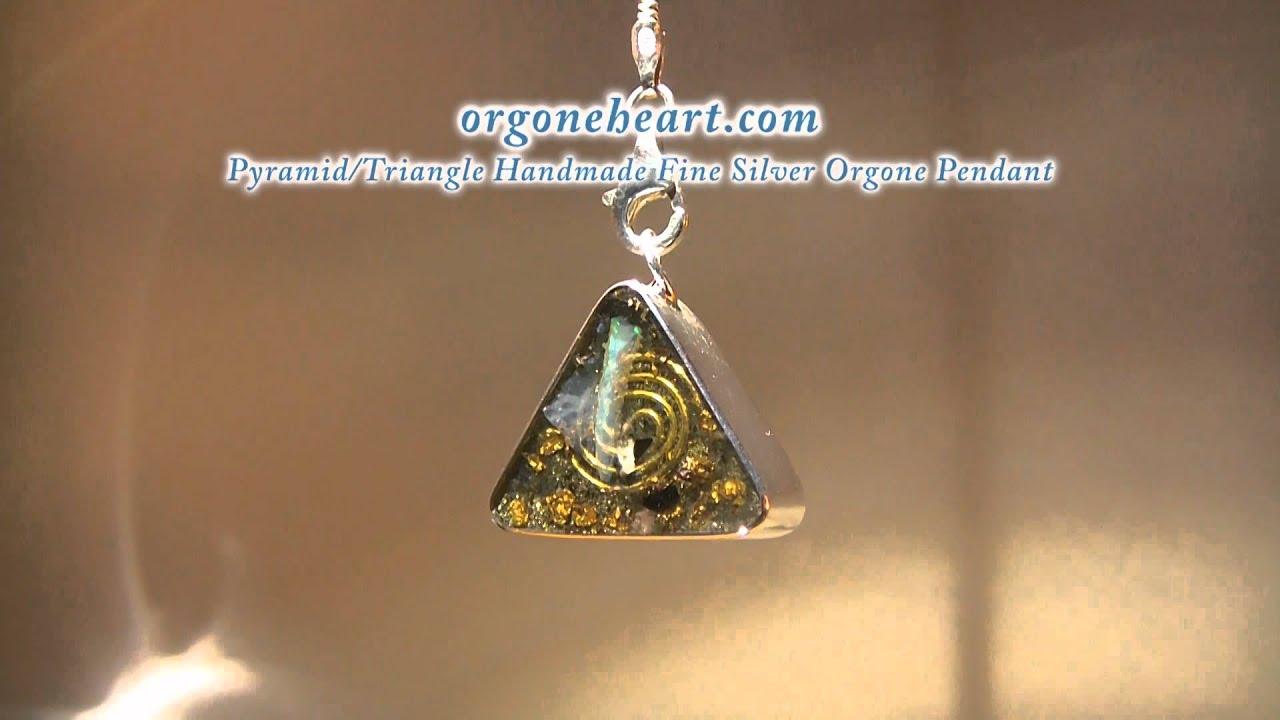 Orgoneheart handmade fine silver orgone pyramidtriangle pendant orgoneheart handmade fine silver orgone pyramidtriangle pendant in 1080 hd aloadofball Choice Image