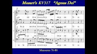 Soprano-Mozart KV317-6 Coronation Mass - Agnus Dei