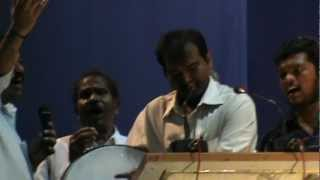 Dappu Ramesh singing Lal Lal Salam song